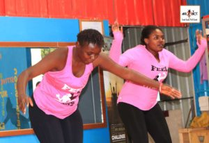 Afrobics dance