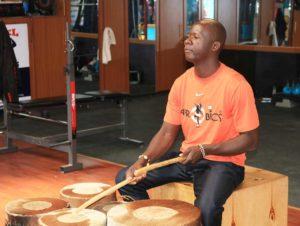 Afrobics drums